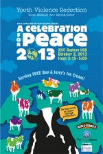 Ben & Jerrys Scooping for Peace D.C.