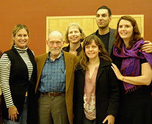 Michael Nagler, Stephanie VanHook and others from the Metta Center.