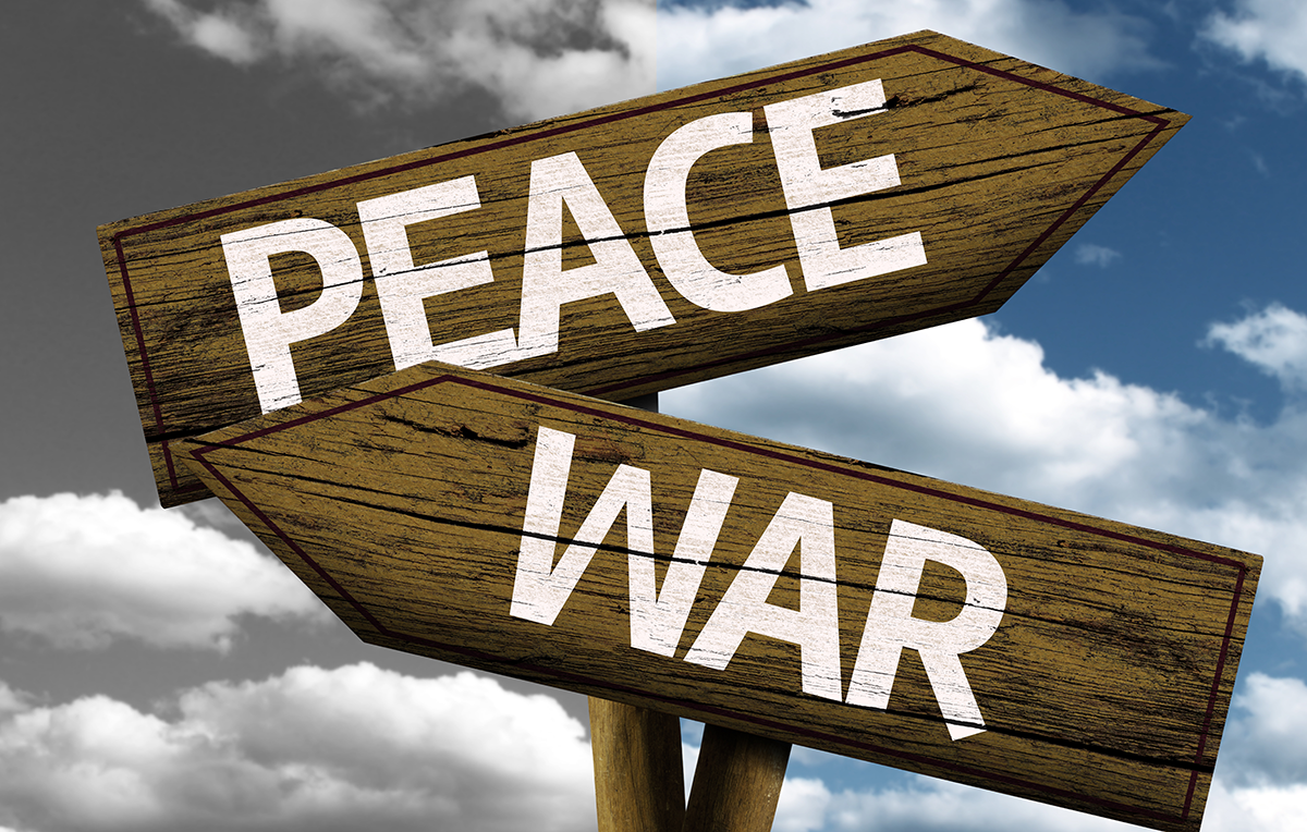 """peace not war - choir piece essay International day of peace essay 