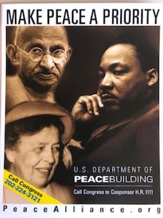 Dept of Peacebuilding postcard